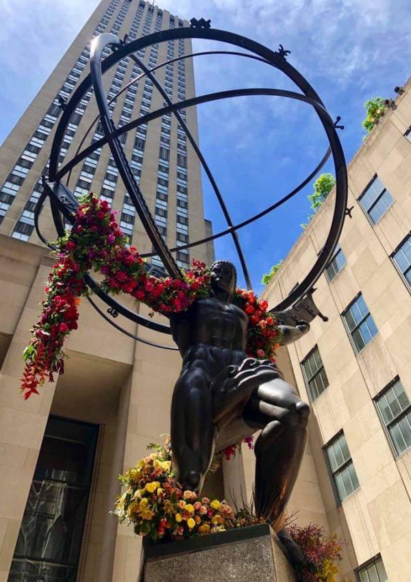 Unshrugged: Floral Street Art of Lewis Miller