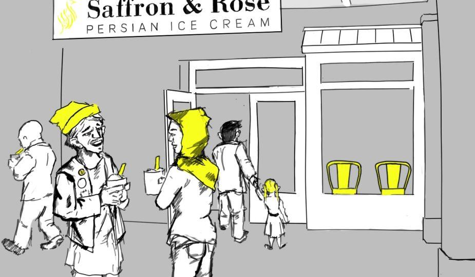Saffron&Rose illustartion Essa Rasheed