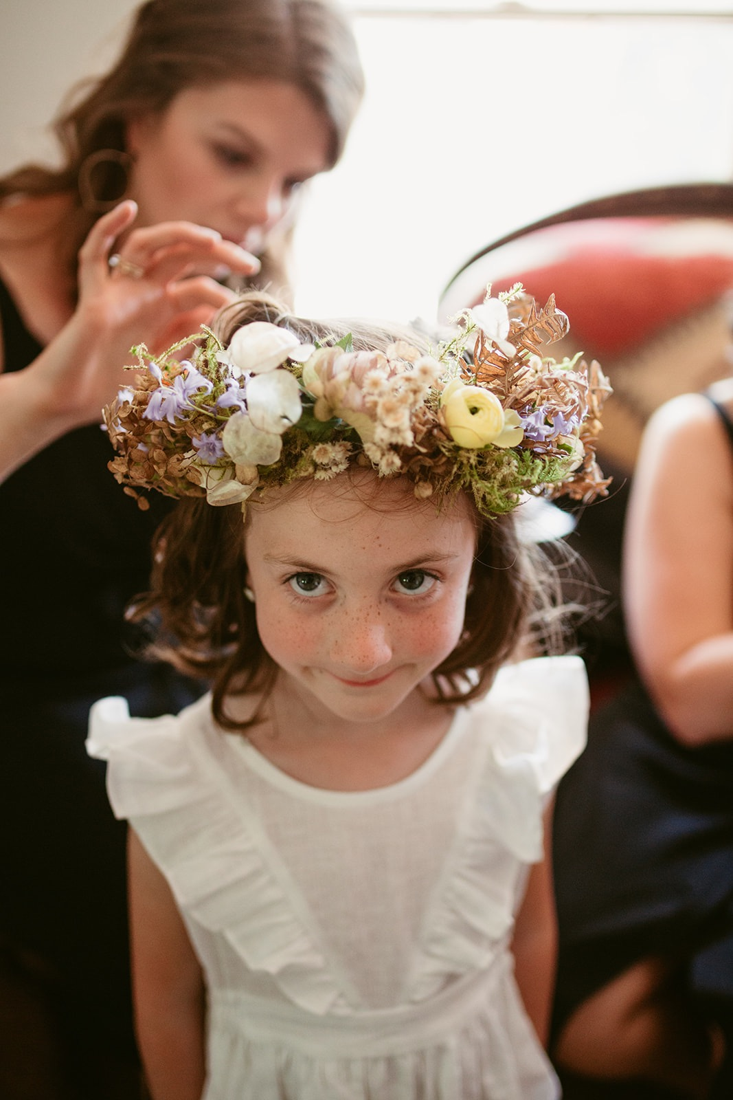 Wild-harvested Flower-girl Crown